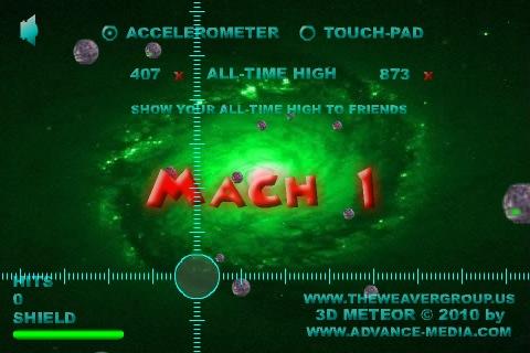 Screenshot 3D Meteor