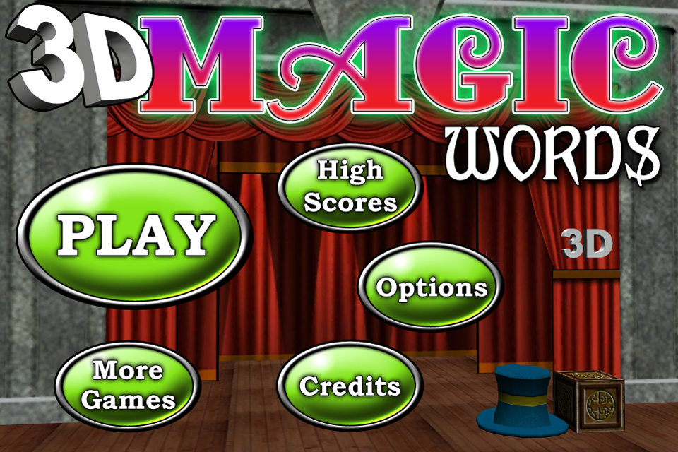 Screenshot 3D Magic Words